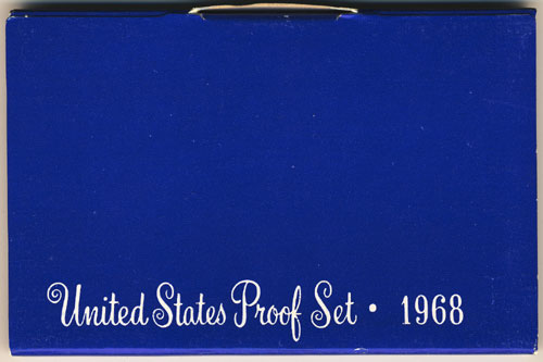 1968 Proof Set box