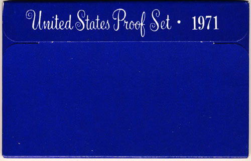 1971 Proof Set Box