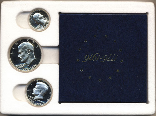 1976 Proof Set Box