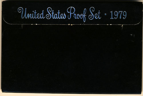 1979 Proof Set Box