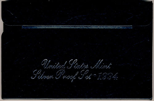 1994 Silver Proof Set Box