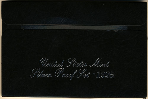 1995 Silver Proof Set Box