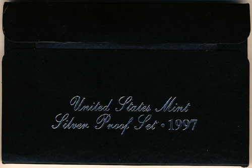 1997 Silver Proof Set Box