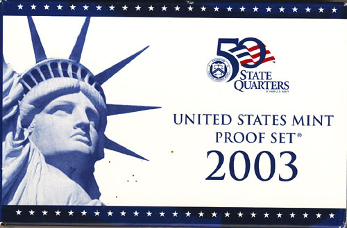 2003 Proof Set Box