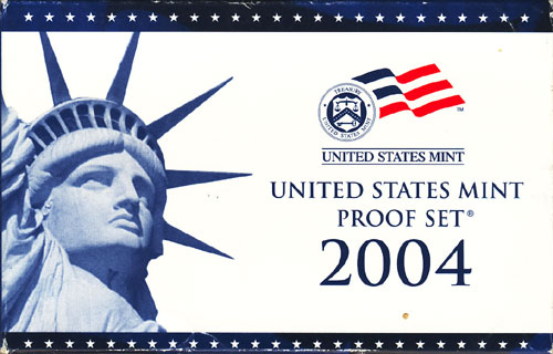 2004 Proof Set Box