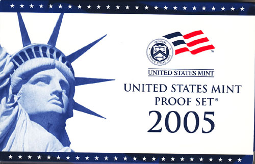 2005 Proof Set Box