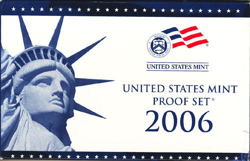 2006 Proof Set Box