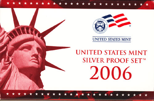 2006 Silver Proof Set Box