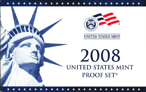 2008 Proof Set Box