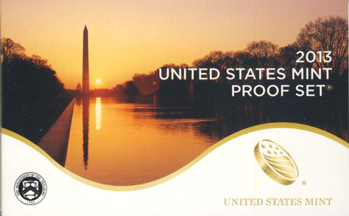 2013 Proof Set Box