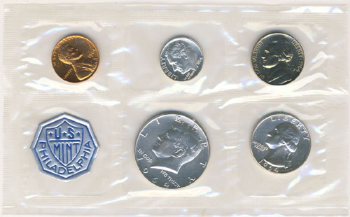 1964 Proof Set United States Mint Proof Sets